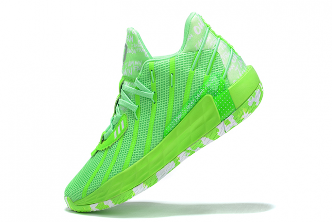 2020 adidas Dame 7 Volt White For Sale 680x455