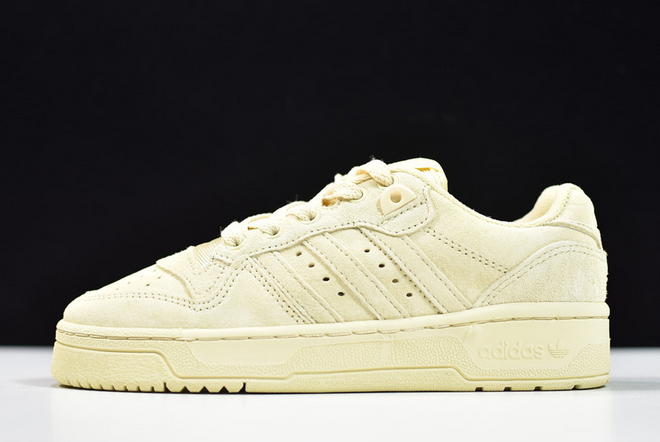 2020 adidas Wmns Originals Rivalry Low Suede Easy Yellow EE7067 For Sale