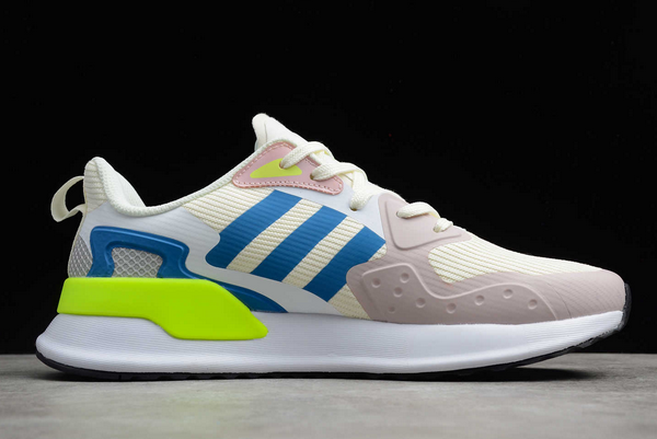2020 adidas X PLR Beige Grey Blue Volt EE7645 For Sale 1