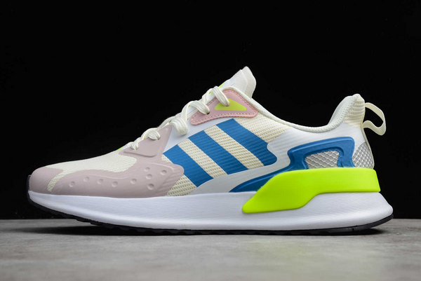 2020 adidas X PLR Beige Grey Blue Volt EE7645 For Sale