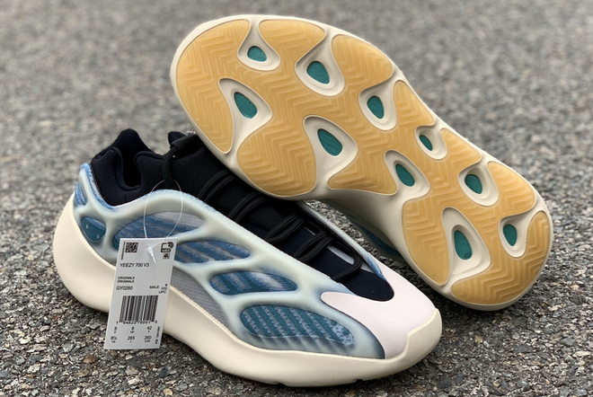 2020 adidas Yeezy 700 V3 Kyanite GY0260 For Sale 1