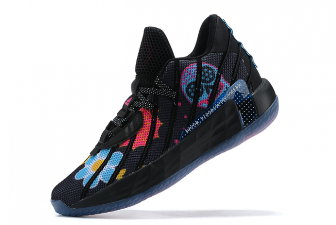 2020 adidas Dame 7 Core Black Semi Solar Pink Bold Gold For Sale 680x455