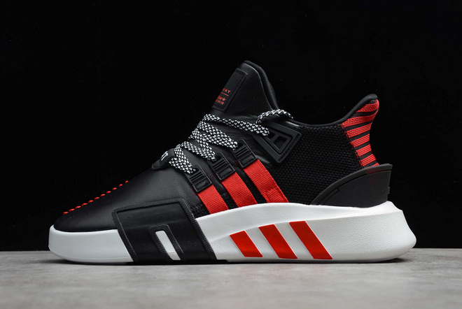 2020 adidas EQT Bask ADV Scarlet Core Black Scarlet Footwear White FW4249 For Sale