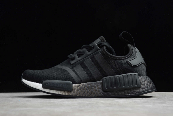 2020 adidas NMD R1 Fading Glitch Black EF4276 For Sale