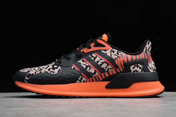 2020 adidas X PLR Black Orange Leopard EE7655 For Sale