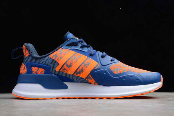 2020 adidas X PLR Royal Blue Orange White EE7658 For Sale 1