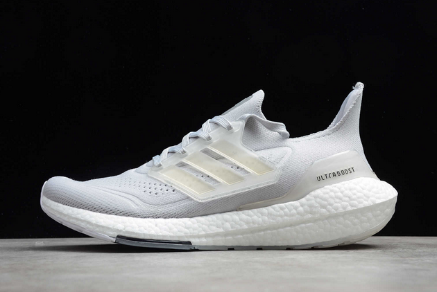 adidas Ultra Boost 2021 Grey White FY0556 For Sale