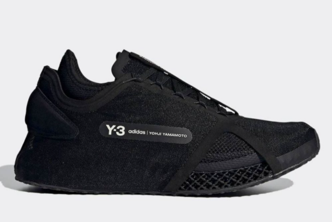 2021 adidas Y 3 Runner 4D IO Black Core White FZ4502 For Sale