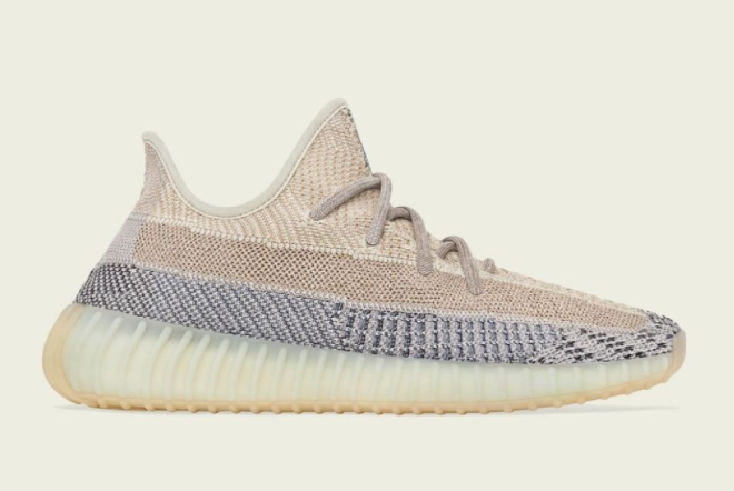2021 adidas Yeezy Boost 350 V2 Ash Pearl GY7658 For Sale
