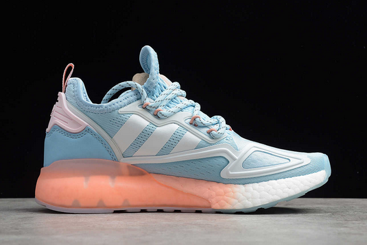 2021 adidas ZX 2K Boost Sky Tint Glow Pink FY0636 For Sale 1