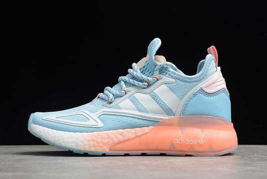 2021 adidas ZX 2K Boost Sky Tint Glow Pink FY0636 For Sale