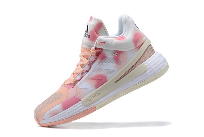 2021 adidas D Rose 11 Pink White For Sale 680x455
