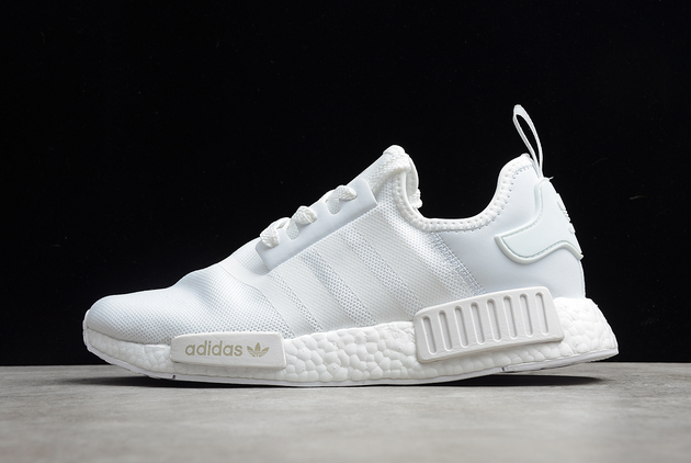 2021 adidas NMD R1 White Grey FV938441 For Sale
