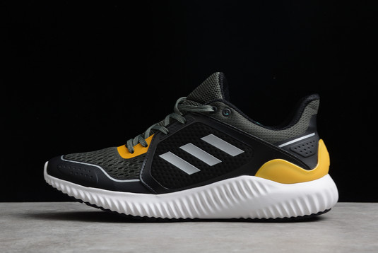 2021 adidas Clima Warm Bounce Black Yellow Silver GE9524 For Sale
