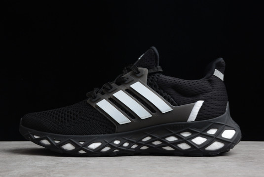 2021 adidas Ultra Boost Web DNA Black White GY4166 For Sale